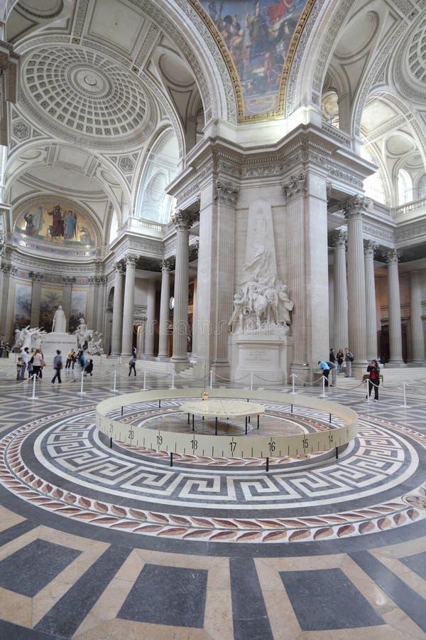 Panteón de París foto de archivo
