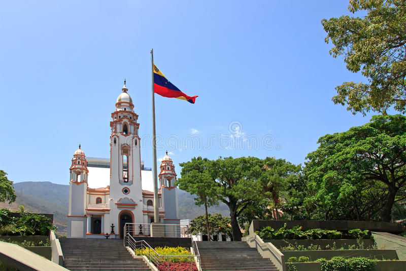 Panteón nacional, Caracas, Venezuela fotos de archivo