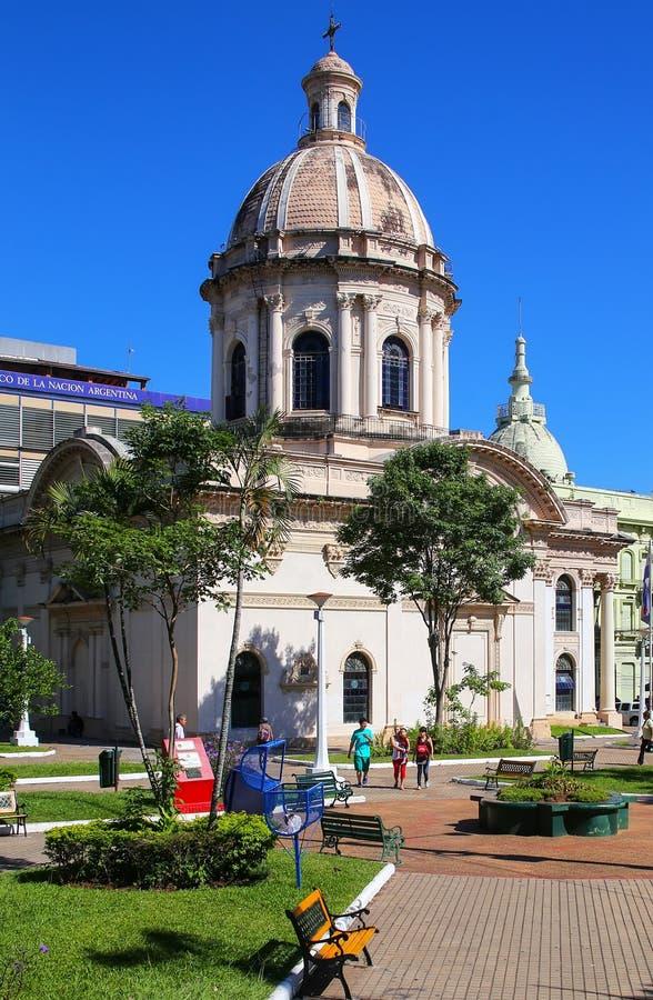 Panteón nacional de los héroes en Asuncion, Paraguay foto de archivo