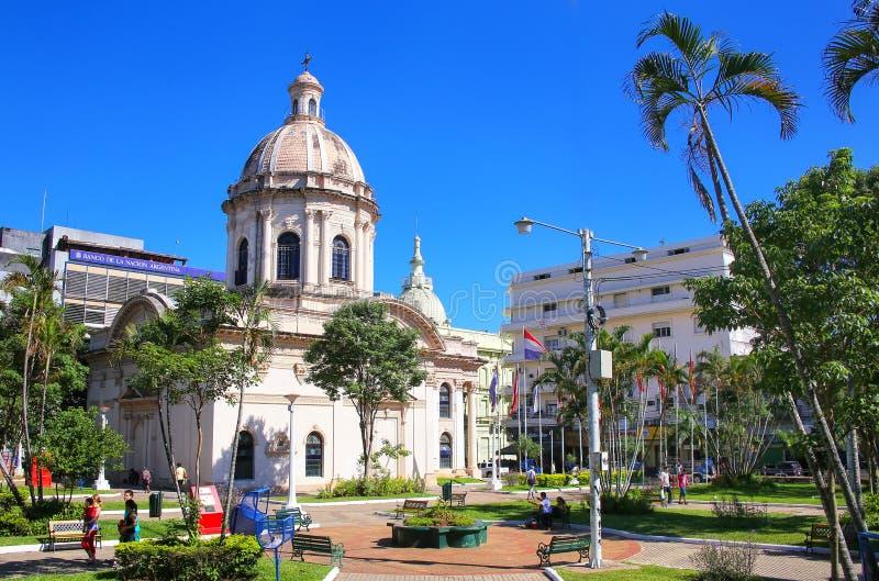 Panteón nacional de los héroes en Asuncion, Paraguay imágenes de archivo libres de regalías