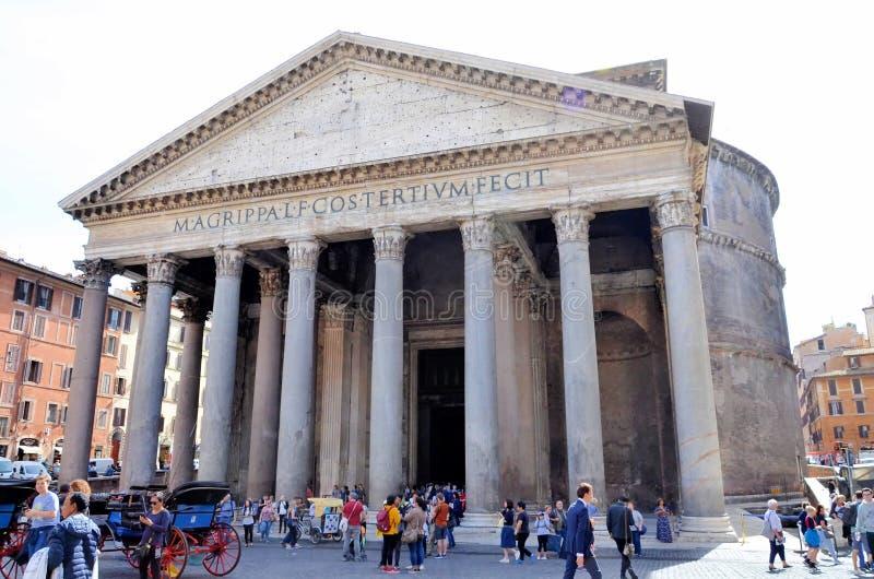 Pante?o em Roma fotografia de stock