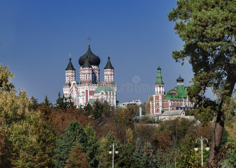 Panteleimon Church à Kiev Ukraine, photographie stock