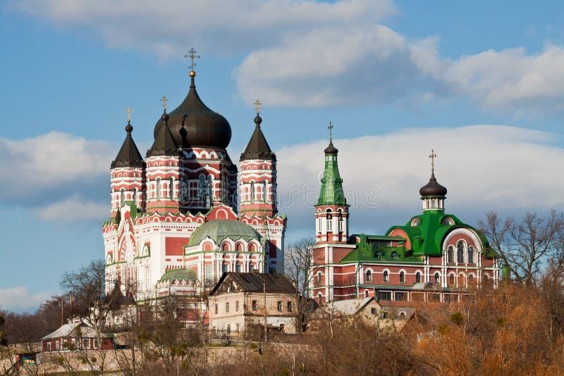 panteleymon Украина kyiv церков стоковое фото