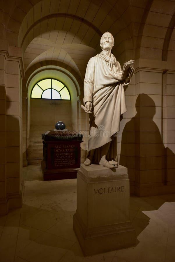 Panteonów Crypts - Paryż, Francja obrazy stock