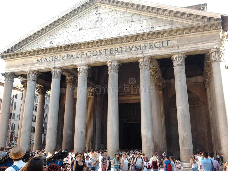 Panteon royalty-vrije stock afbeeldingen