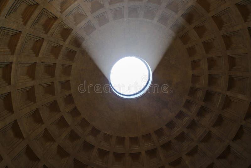 Panteon kopuła, Rzym zdjęcie stock