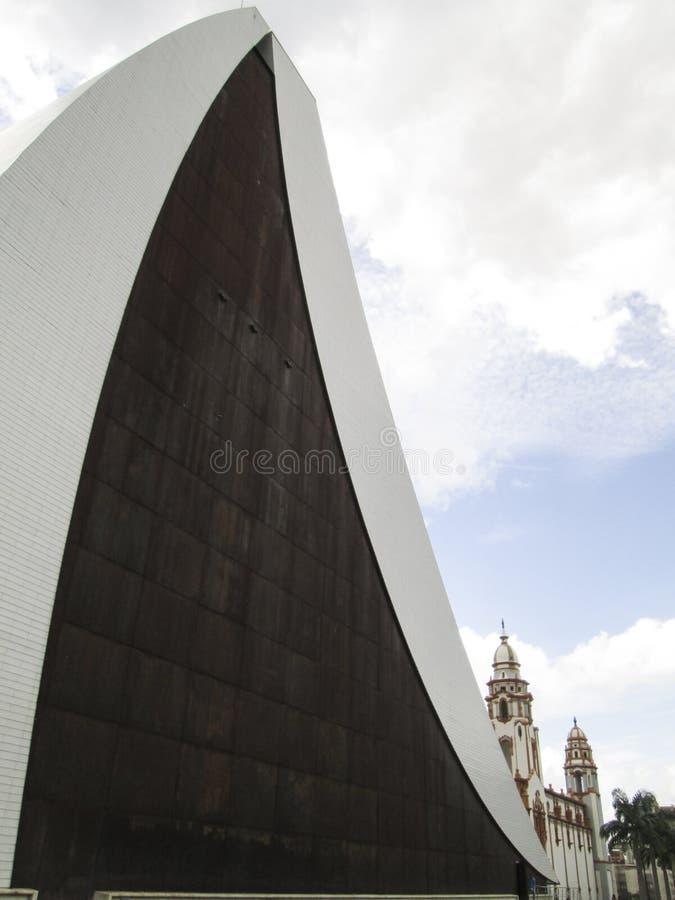 Panteon nazionale Caracas Venezuela immagini stock libere da diritti