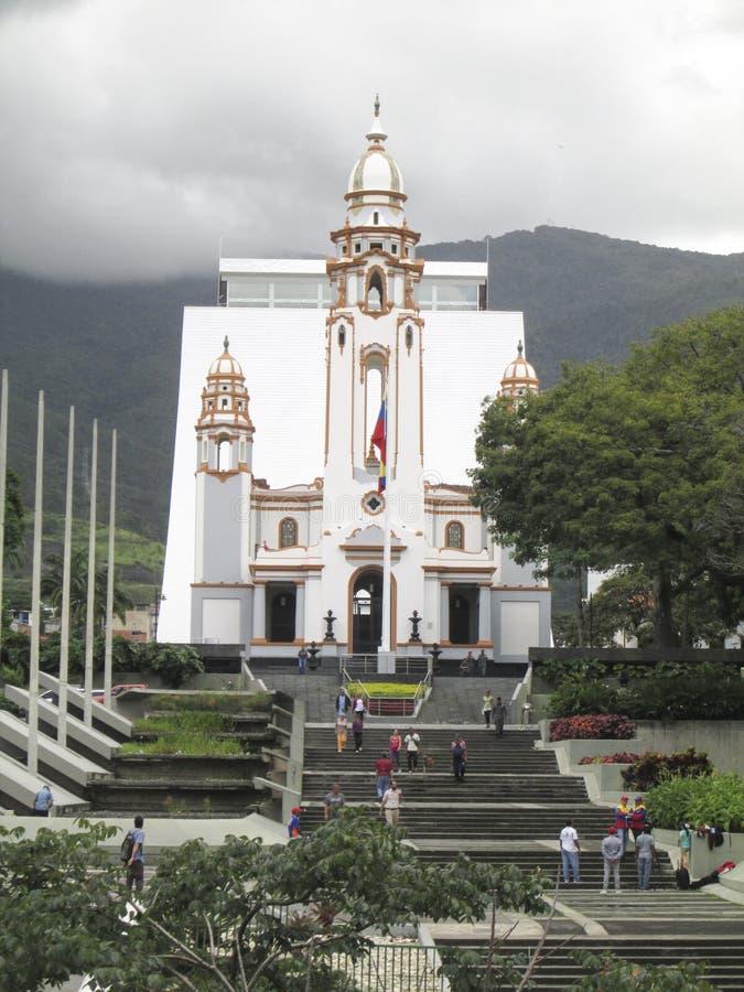 Panteon nazionale Caracas Venezuela fotografia stock libera da diritti