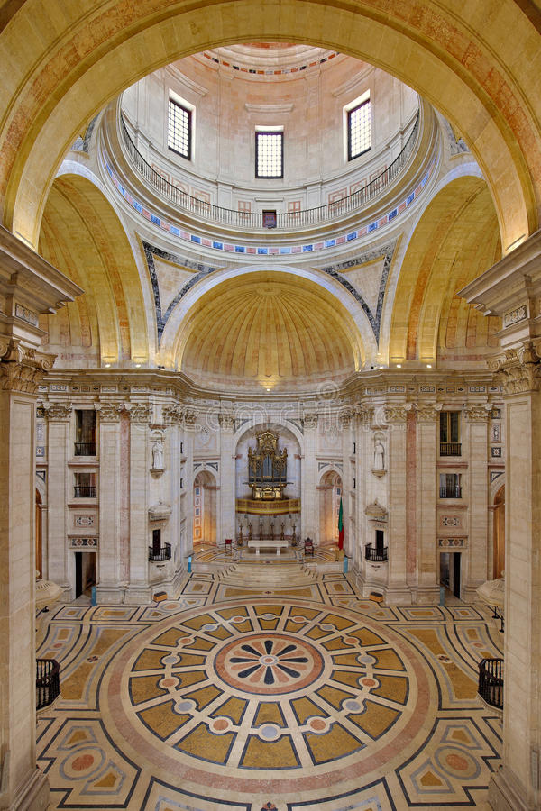 Panteon nazionale a Lisbona, Portogallo fotografia stock libera da diritti