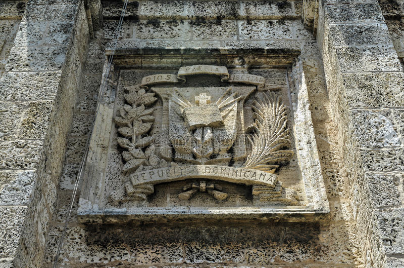 Panteon nazionale, Santo Domingo, Repubblica dominicana fotografie stock