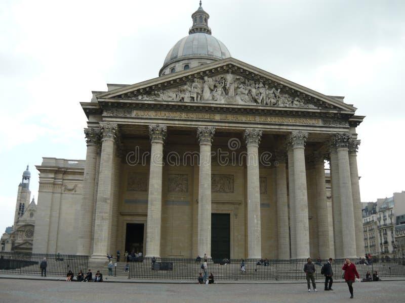 Panteon, Parigi fotografie stock