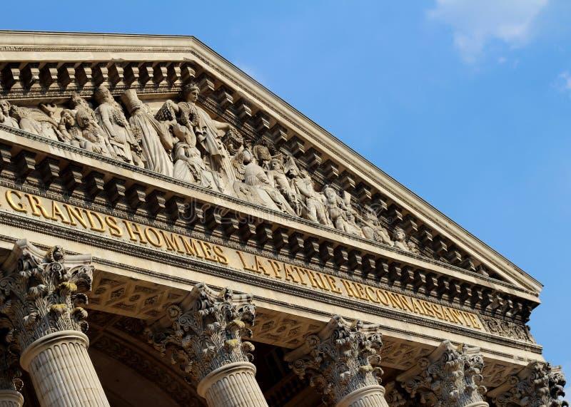 Panteon, Parigi fotografie stock libere da diritti