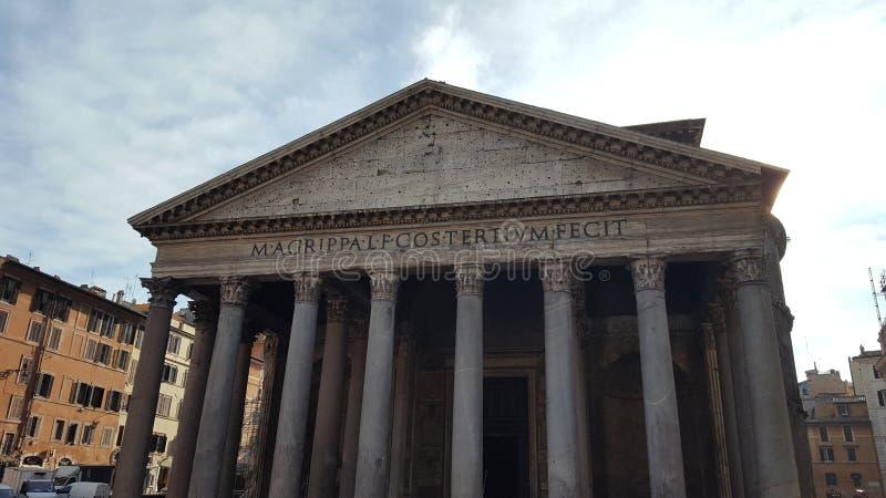Panteon przy Rzym fotografia stock