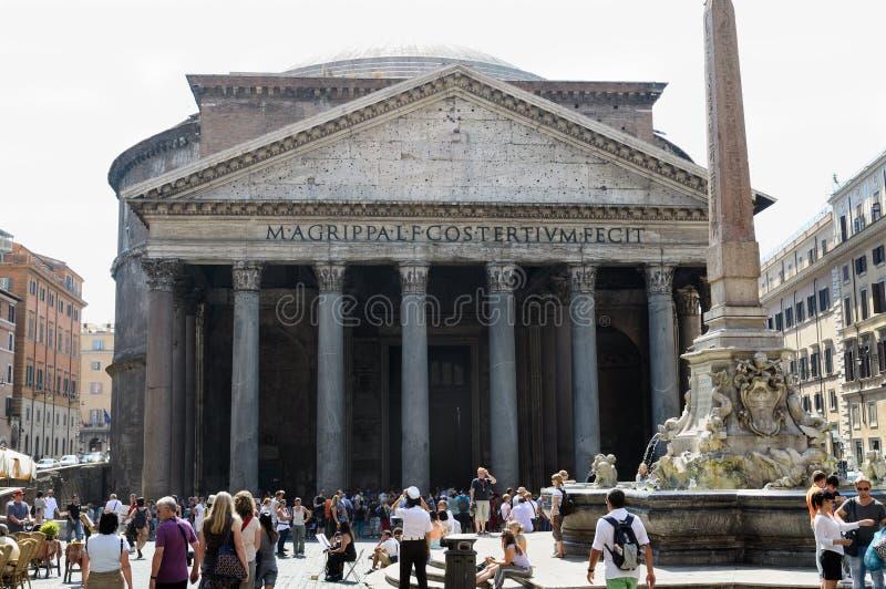 Panteon, Roma immagini stock