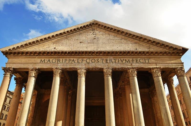 Panteon, Roma immagini stock libere da diritti