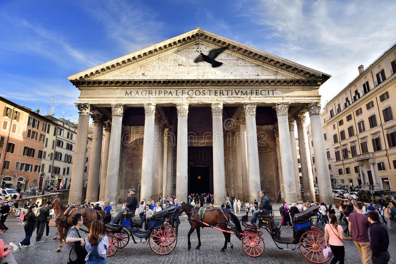 Panteon, Roma, Italia immagini stock