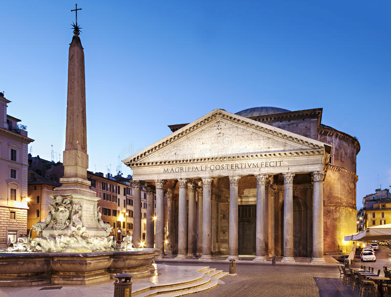 Panteon, Rzym zdjęcia royalty free