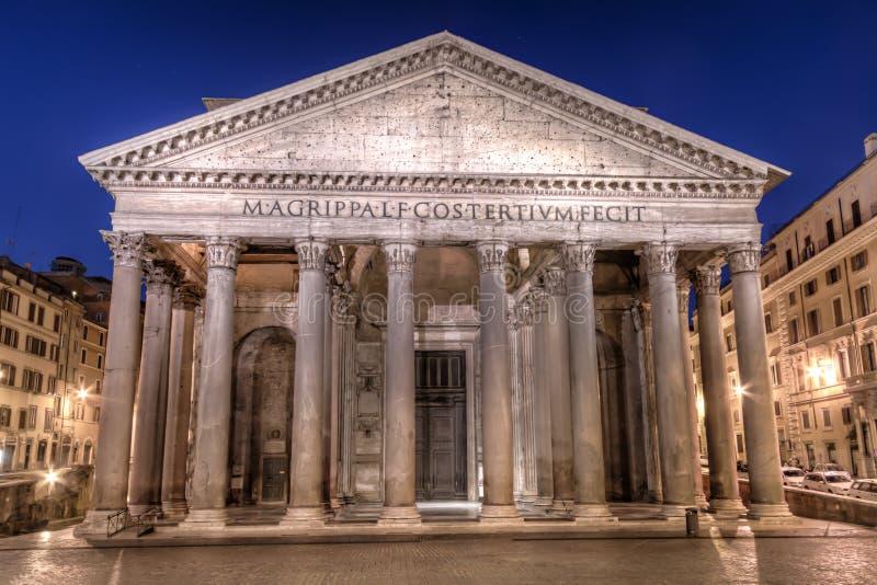 Panteon, Rzym obraz royalty free