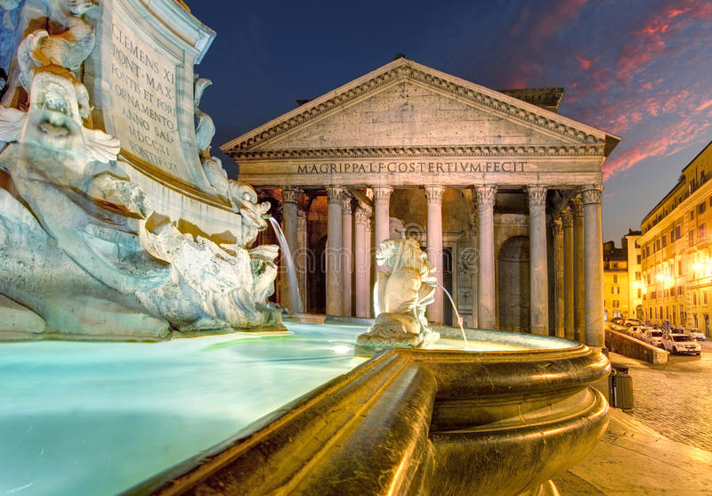Panteon - Rzym zdjęcie stock