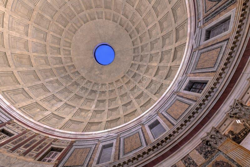 Panteon - Rzym, Włochy obrazy stock