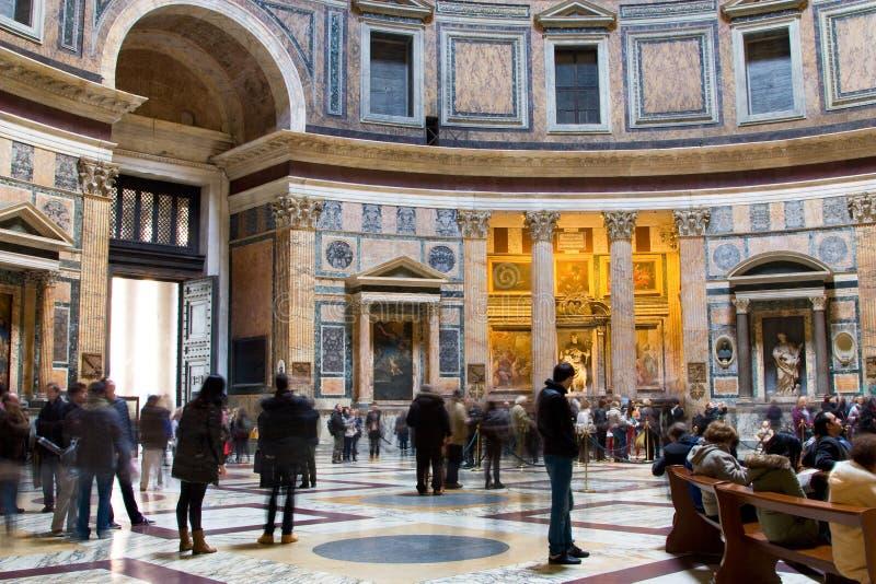Panteon Santa Maria, Roma della basilica. fotografia stock libera da diritti