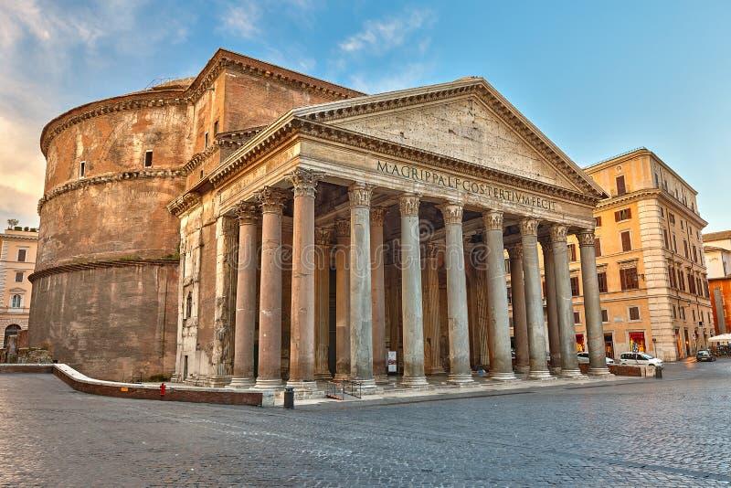 Panteon w Rzym, Włochy fotografia stock