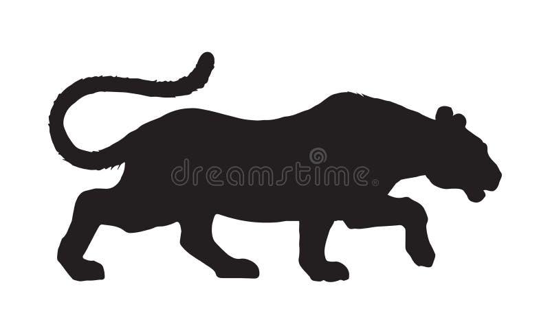 pantera Gráfico del vector stock de ilustración