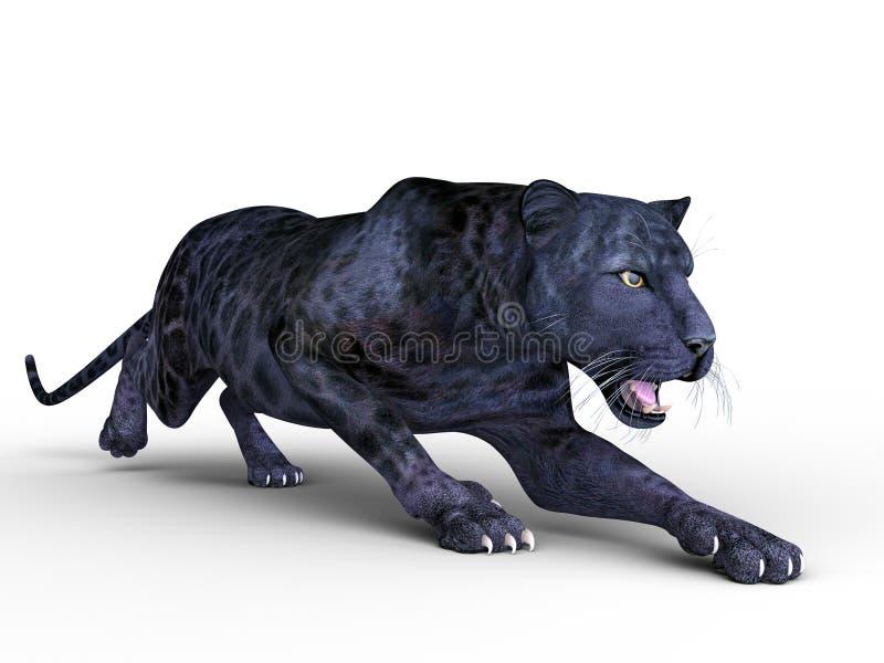 Panthère noire illustration libre de droits