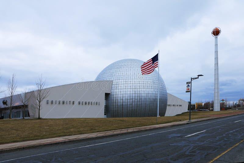 Panthéon commémoratif de basket-ball de Naismith, Springfield, Massachu photo stock