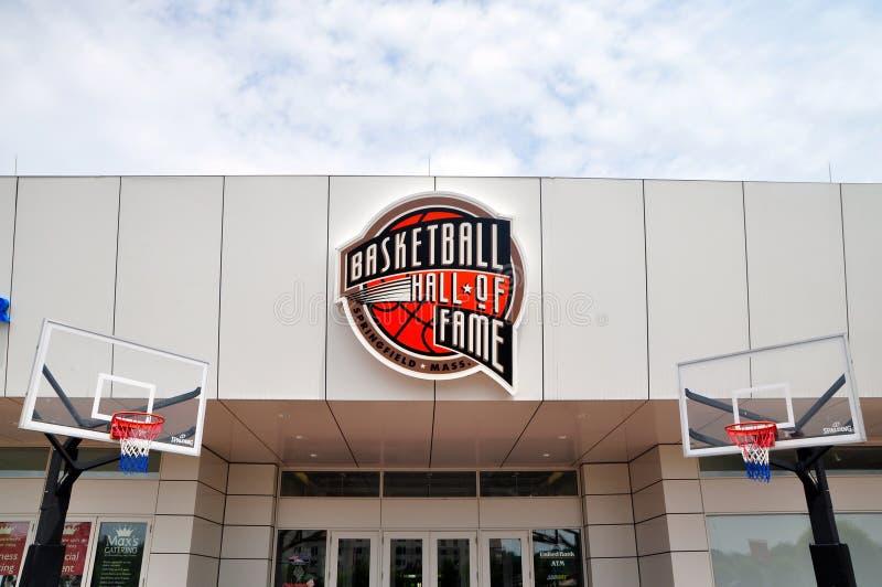 Panthéon de basket-ball photo libre de droits