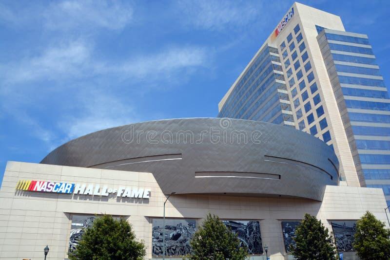 Panthéon de NASCAR photo libre de droits