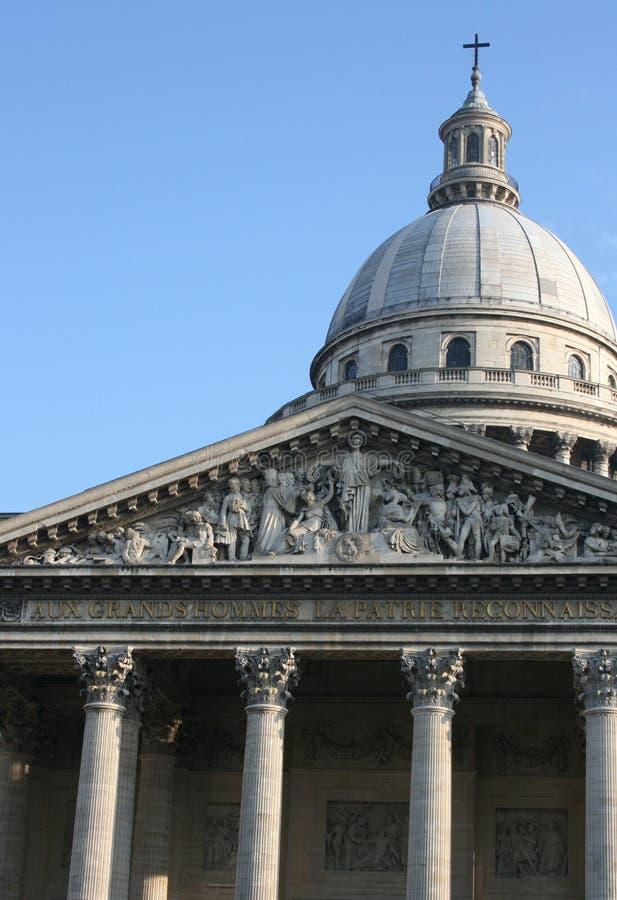 Panthéon DE Parijs, Frankrijk royalty-vrije stock foto