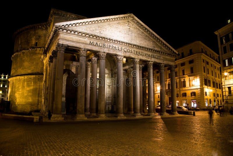 pantheon Ρώμη στοκ φωτογραφία με δικαίωμα ελεύθερης χρήσης