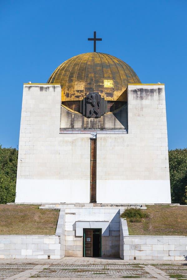 Pantheon του εθνικού ήρωα αναγέννησης, Ruse στοκ εικόνες με δικαίωμα ελεύθερης χρήσης