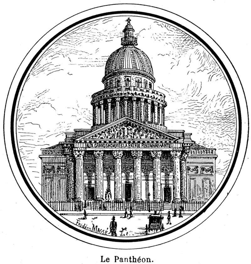 Download Pantheon-001 stock image. Image of  - 83041433
