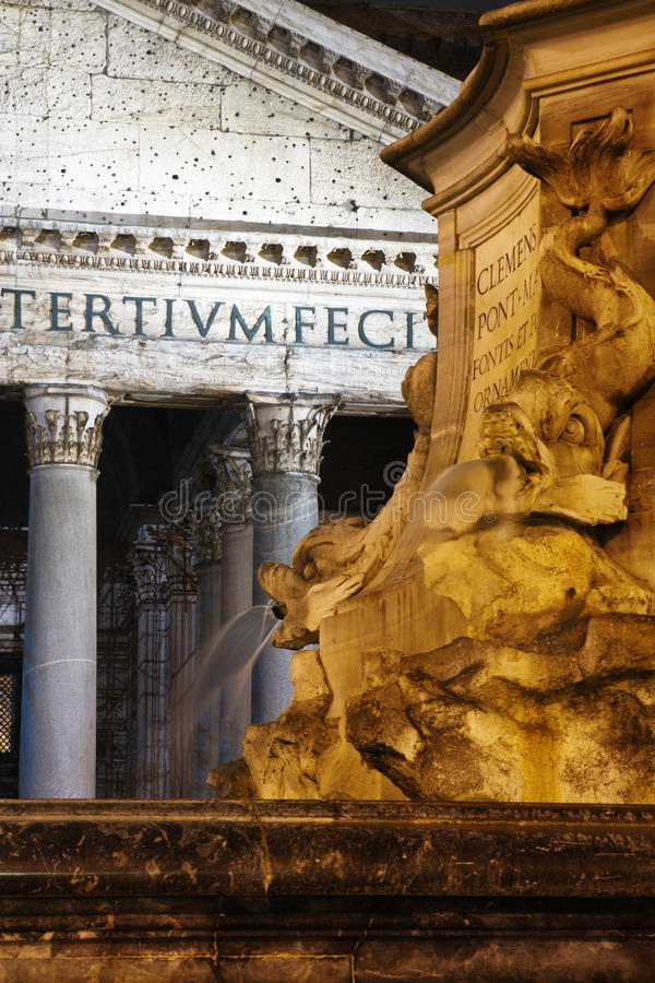 Pantheon royalty-vrije stock afbeelding