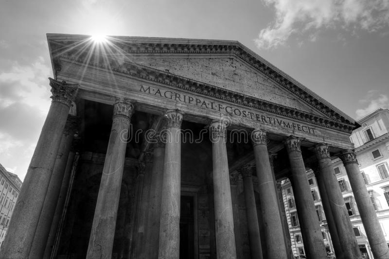 Download The Pantheon stock image. Image of inscription, rome - 19187089