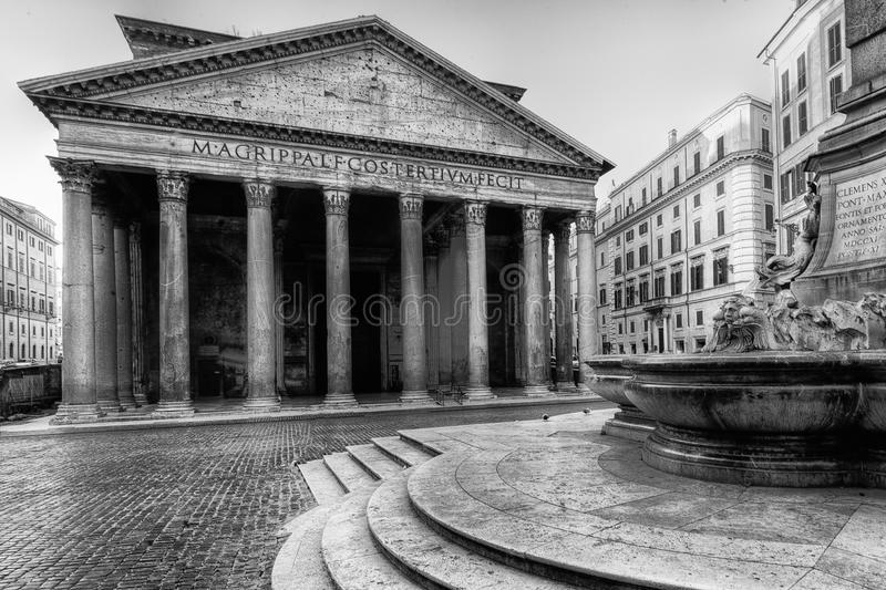 Download The Pantheon stock image. Image of sculpture, conserved - 19187091
