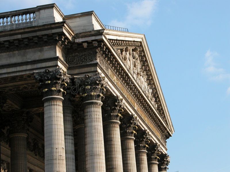 Download Pantheon stock photo. Image of columns, style, official - 257230