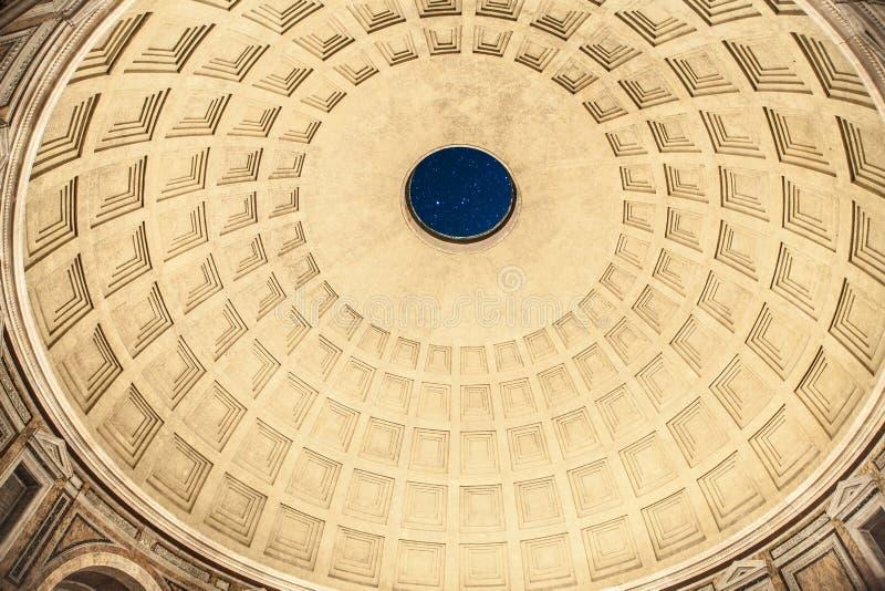 pantheon royaltyfri fotografi