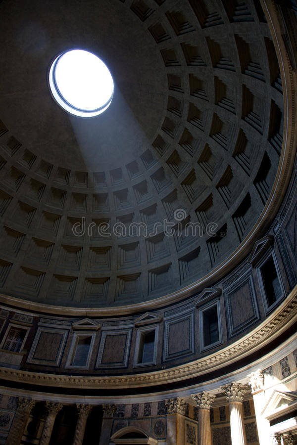 Pantheon Of Agripa In Rome Stock Images