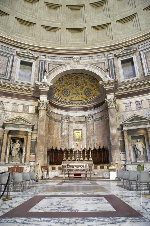 Pantheon-Altar stockbilder