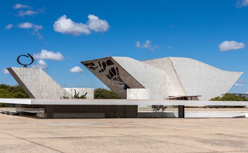 Pantheon in Brasilia royalty-vrije stock afbeelding