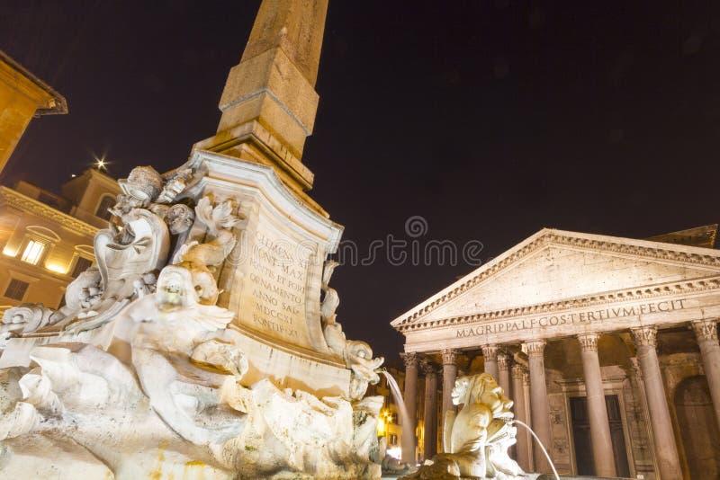 Pantheon Della Rotunda Rome royalty free stock photos
