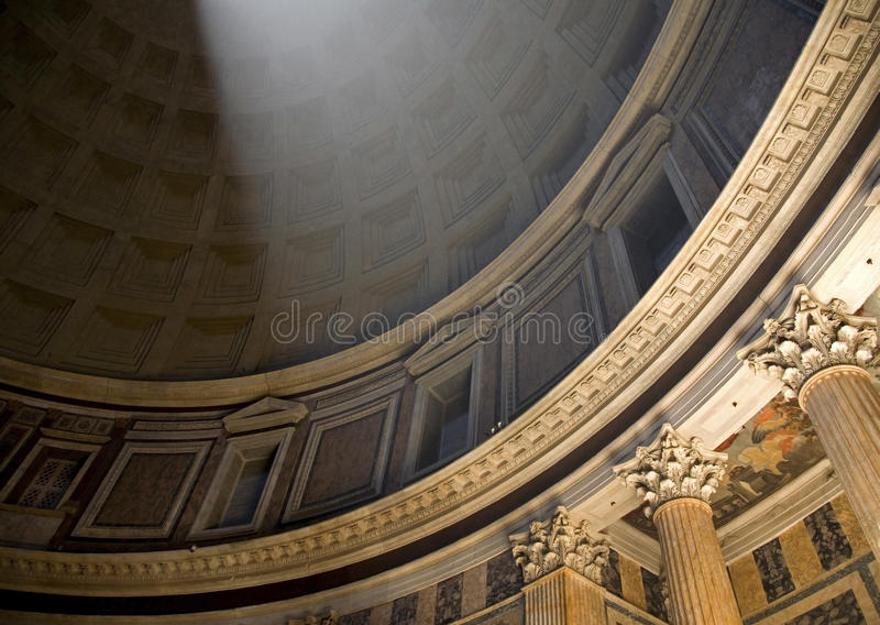 Download Pantheon Light Ray stock photo. Image of architecture - 19370566