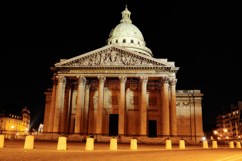 Download Pantheon By Night, Paris Editorial Stock Image - Image: 20871264