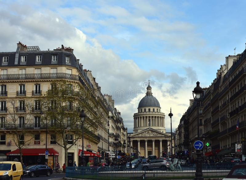 The Pantheon in Paris royalty free stock images