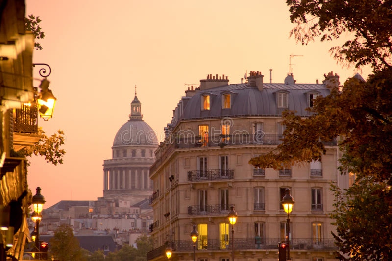 Pantheon - Paris - Frankreich stockfotografie