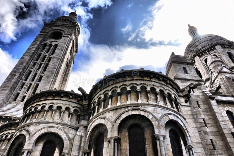 Pantheon in Paris, HDR royalty free stock photography