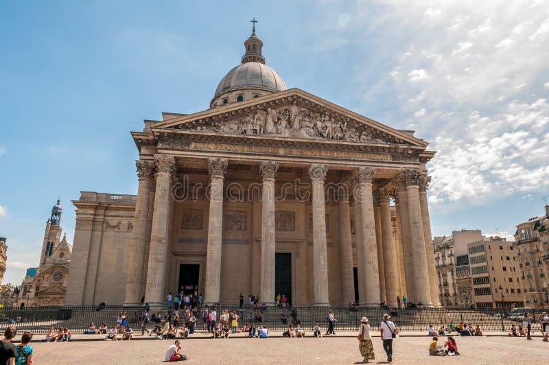 Pantheon Paris royalty free stock images